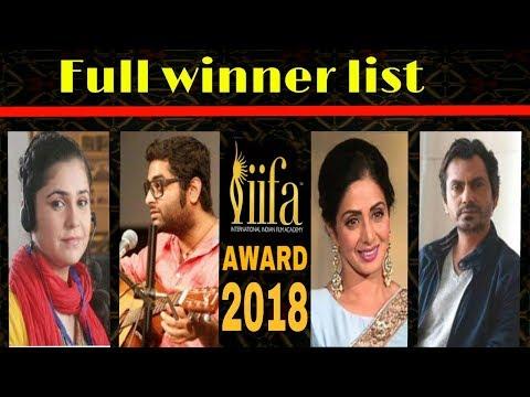 Xxx Mp4 Iffa Awards 2018 Full Winner List Vidya Balan Shridevi Arijit Singh 3gp Sex