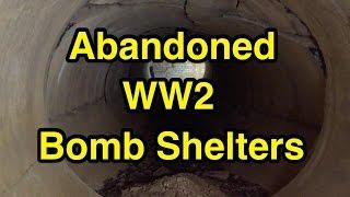 Abandoned WW2 Bomb Shelters!
