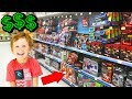BUY ANYTHING YOU WANT (with my nephew)