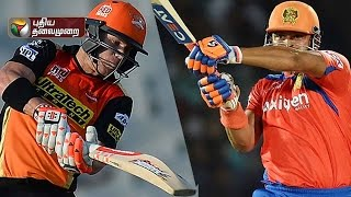 IPL 2016: Gujarat Lions vs Sunrisers Hyderabad, 2nd Qualifier at 08:00PM  (27/05/2016)