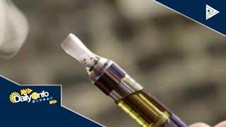 Paggamit ng vape, planong i-regulate ng DOH-FDA
