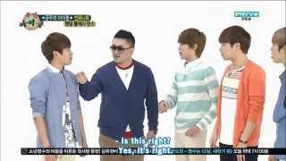 [ENG SUB] 130501 Weekly Idol Infinite part 1