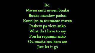 Harmonik - Mwen bouke (Lyrics)