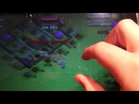 Clash of Clans 170 Barbarian Attack