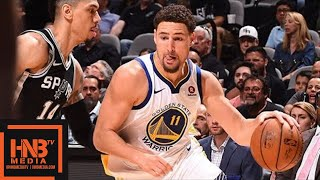 Golden State Warriors vs San Antonio Spurs Full Game Highlights / Game 4 / 2018 NBA Playoffs