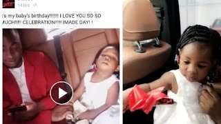 DAVIDO Celebrate Second Birthday Of His First Baby Imade Outside of Nigeria (Video)