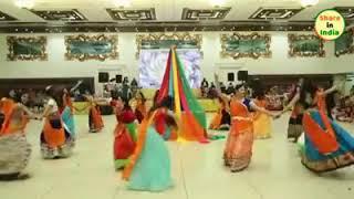 Mithe ras su bharyodi radha Rani lage. Awesome dance.