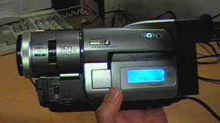 1999 Sony Digital8 camcorder review & test