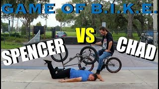Game Of BIKE: Spencer Vs. Chad!