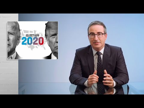 Election Results 2020 Last Week Tonight with John Oliver HBO