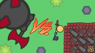 ZOMBS.IO FULL RUBY TIER BASE VS. ZOMBIE DEVIL BOSS! New Awesome Io Game! (Zombs.io New Update)