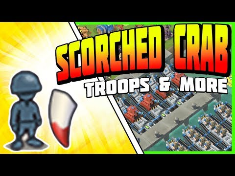 Scorched Crab Troop Ideas - Boom Beach July 27/2018