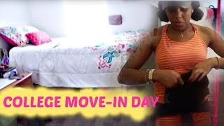COLLEGE VLOG 2016: MOVE IN!