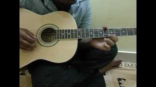 nee paata maduram-3 movie song tabs on guitar