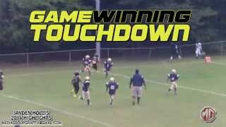 Jayden Hollis #28 RB/CB 2014 Amazing f.ootball highlights GA ELITE 8U