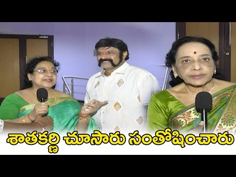 Senior Celebrities Talk about Gautamiputra Satakarni