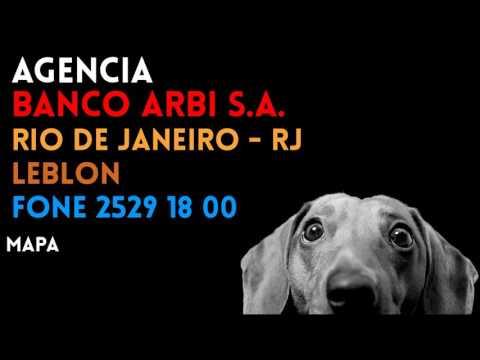 ✔ Agência BANCO ARBI S.A. em RIO DE JANEIRO/RJ LEBLON - Contato e endereço