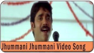 Jhummani Jhummani Video Song ||   Ravoyi Chandamama Movie ||  Nagarjuna Akkineni,Anjala Zhaveri