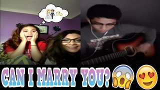 YOUNOW SINGING | GIRL WANTS TO MARRY ME! [ASIAN VOICE TROLLING] [2017]