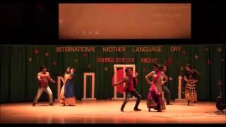 Dance Performance at Bangladeshi night 2016
