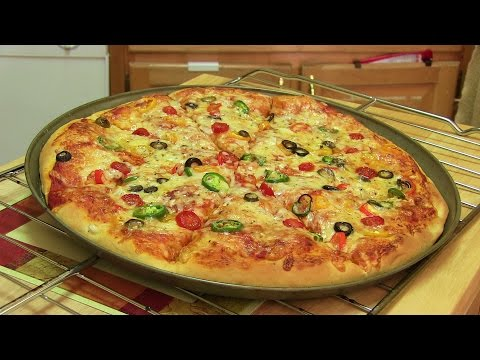 Xxx Mp4 Homemade Pizza Video Recipe⭐️ Start To Finish Pizza Recipe With Dough Sauce And Toppings 3gp Sex