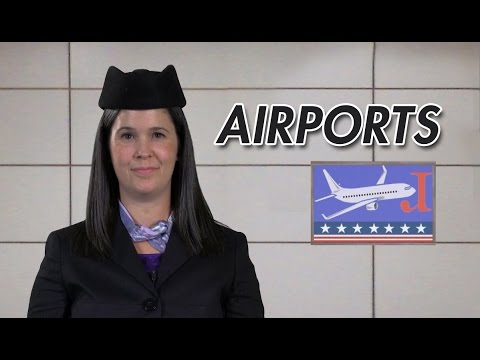 watch English Conversation – Checking in at an airport – American English