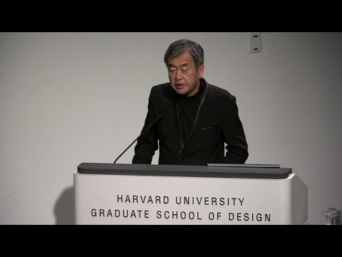 """Kengo Kuma, """"From Concrete to Wood: Why Wood Matters"""""""