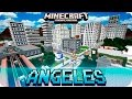 Minecraft pe maps - huge blocks angeles city map with download - 0 16 0 0 15 0 mcpe