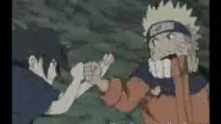 naruto amv sasuke vs naruto (linkin park-leave all the rest)