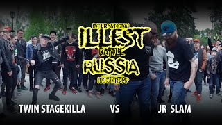 ILLEST RUSSIA |  FINAL KRUMP BOYS | TWIN STAGEKILLA VS JR SLAM