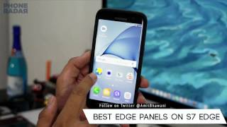 Best 5 Edge Panels for the Samsung Galaxy S7 Edge Smartphone