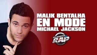 Malik Bentalha en mode Michael Jackson dans le Planète Rap de Tal
