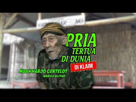 SEORANG PRIA ASAL BLITAR DIKLAIM SEBAGAI PRIA TERTUA DI DUNIA