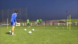 Goalkeepers Training of Iran National team - Qatar 2017