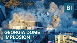 Watch The Georgia Dome Implosion