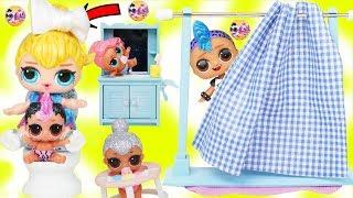 Lil Punk Boi Morning Routine with JOJO Siwa Unicorn LOL Surprise Doll Ambulance Visit Hospital