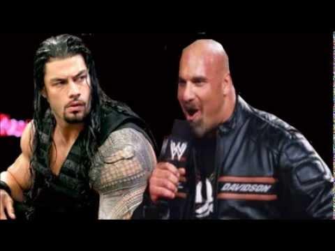 Xxx Mp4 Roman Reigns Vs Goldberg At WrestleMania XXX MAJOR Backstage Details 3gp Sex