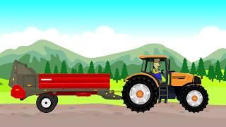 ☻ Fairy Tractors - Stones I Farmer - Farm Work I Bajki Dla Dzieci o Rolnikach - Kamienie ☻