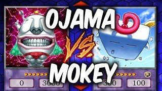 Yugioh OJAMA OBELISK vs MOKEY MOKEY (Yu-gi-oh God Card Deck Duel!)