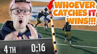 WHOEVER CATCHES IT WINS THE GAME!!! Madden 18 Road to Elite ep.8