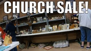 Church Sale Rummage Sale Buying All Sorts Of Treasures for eBay