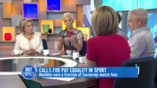 Calls For Pay Equality In Sport
