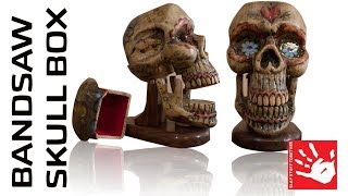 Bandsaw Skull Box - Build