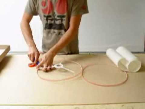 Rolled Edge Lampshade Tutorial.wmv
