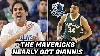 How Giannis Antetokounmpo Almost Ended Up on the Dallas Mavericks!