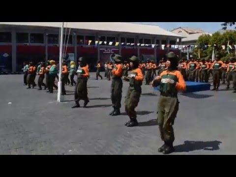 Aksi Goyang Gemu Famire Maumere Tunas Taruna/Taruni Politekni Ilmu Pelayaran Makassar Angkatan XXXVI