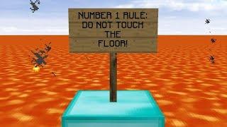 breaking the #1 rule in minecraft!