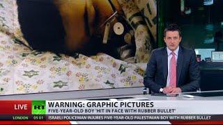 Kids in Crossfire: 5yo Palestinian boy shot in face, 11yo Jewish girl injured in attack