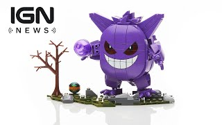 Comic-Con 2018: Pokemon Gengar Mega Construx Revealed - IGN News