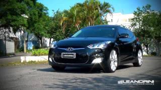 TV Leandrini   Hyundai Veloster Aro 20 e Molas Esportivas H&R